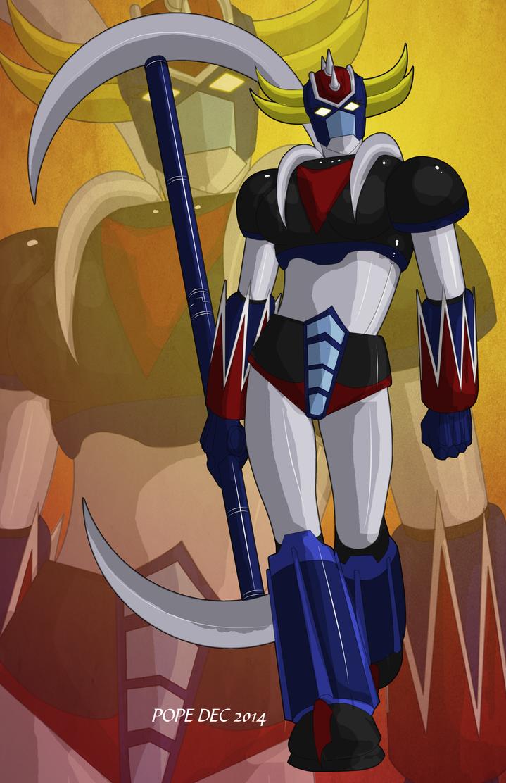 Female Grandizer by hulkdaddyg