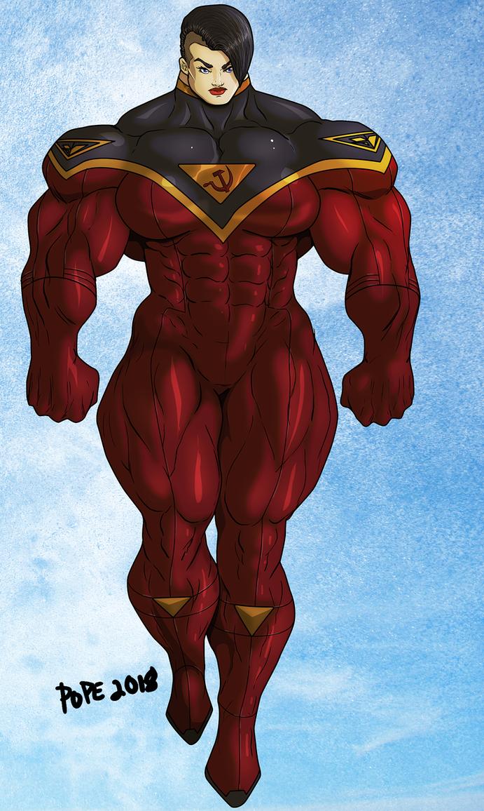 Red Soldier by hulkdaddyg