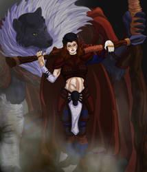 Iron Kingdoms Druid Wolf