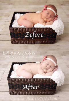 Vanilla Bean Photoshop Action