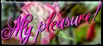 My pleasure by Cundrie-la-Surziere