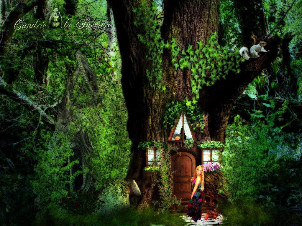 Tief im Wald - Deep in the Forest