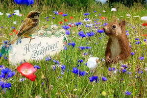 Happy Birthday in April by Cundrie-la-Surziere