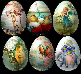 6 Yesterday's  Eggs - Stock