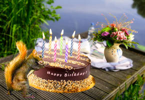Happy Birthday in May by Cundrie-la-Surziere