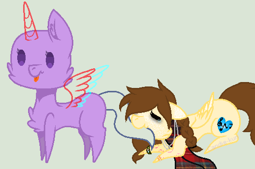 Collab with Candela/Me- Free to use by floodyprincess