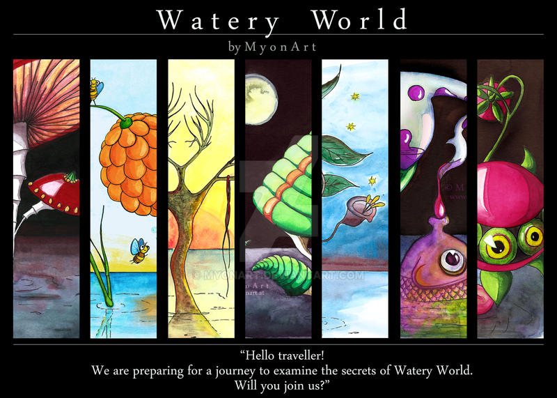 Watery World: Challenge Summary by MyonArt