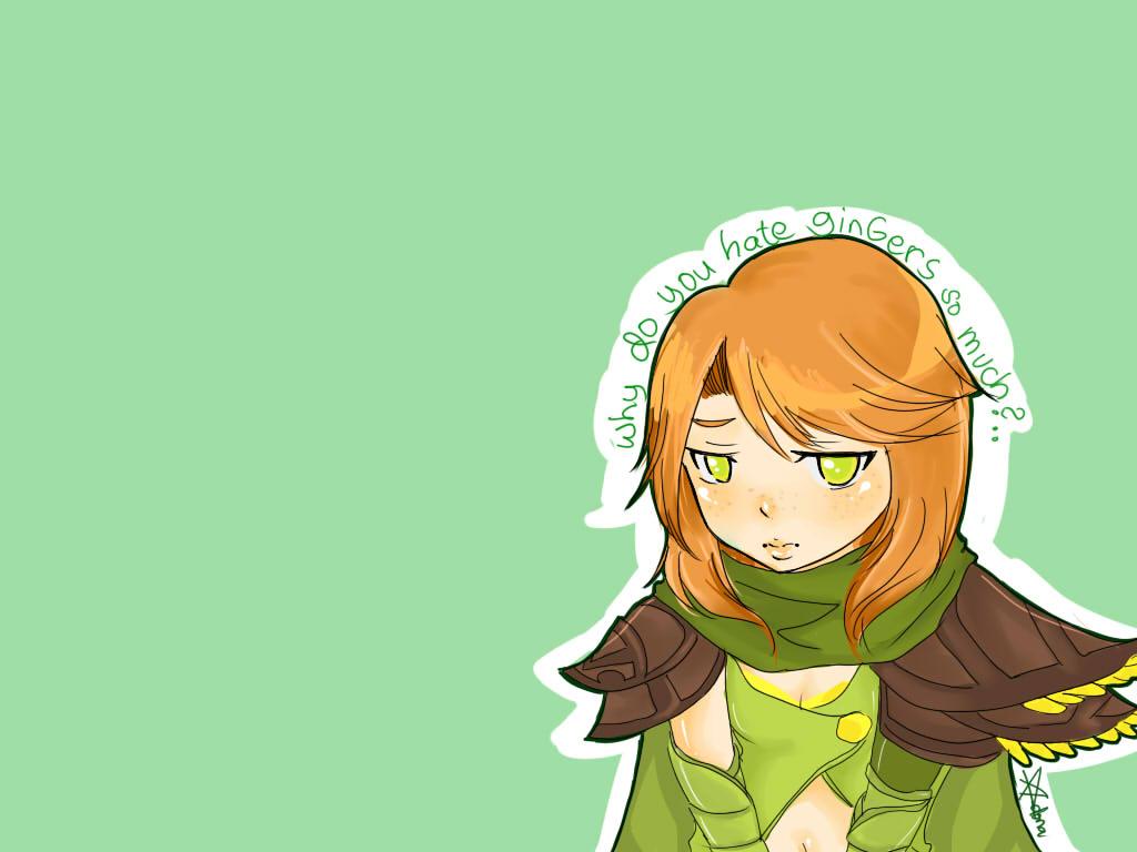 Why do you hate gingers so.... by hai-ru