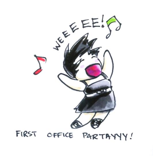 Office Partay by seeker-j