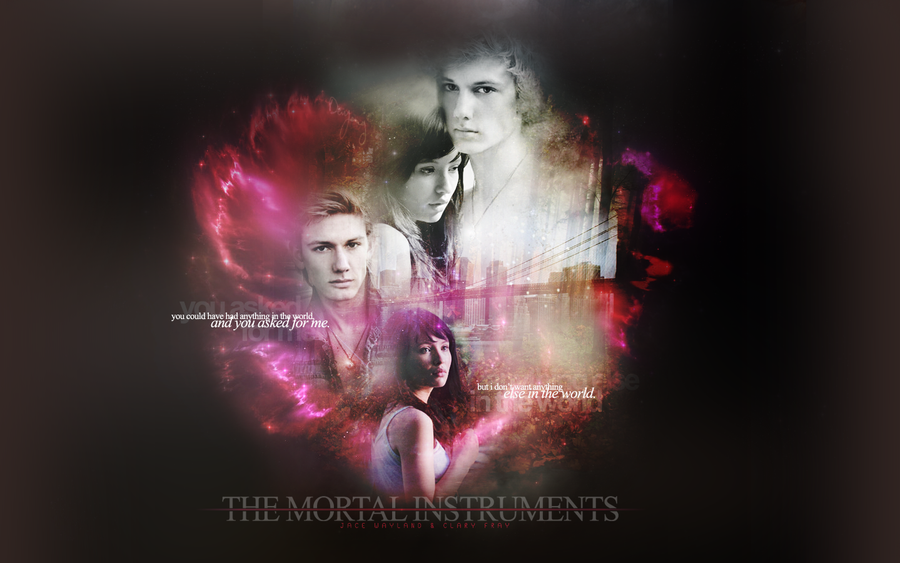 The Mortal Instruments Wall-2 by EUNSHIHAE