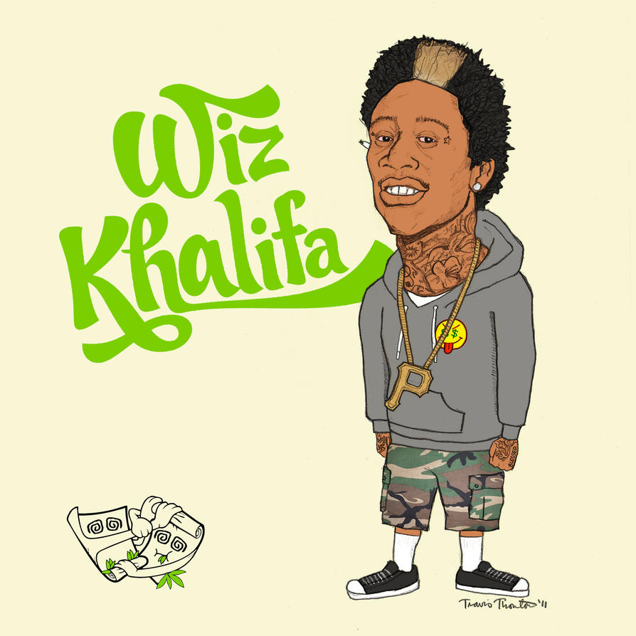 Wiz Khalifa By Travisrt On DeviantArt