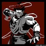 Akuma (Street Fighter) by ApofisRama