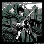 Levi Ackerman (Shingeki no Kyojin) by ApofisRama