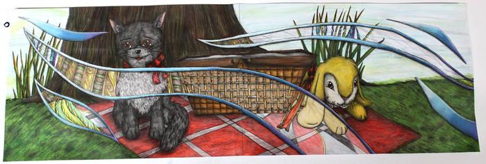 Picnic with Friends- (L3 Artboard P11) by ChantalAllanson