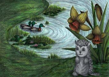 Spikey -(L3 Artboard P9) by ChantalAllanson
