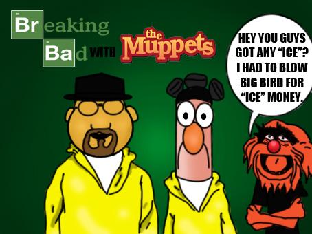 breaking bad muppet - photo #3