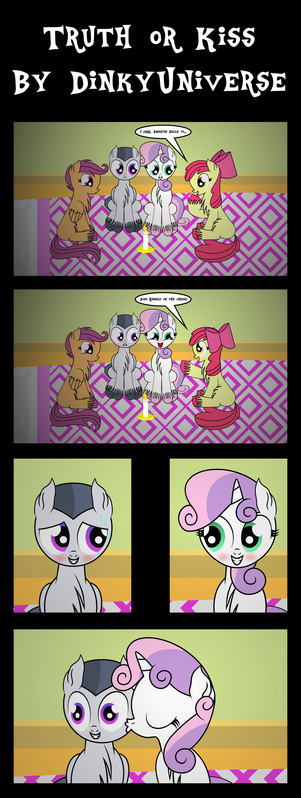 Truth or Kiss by DinkyUniverse