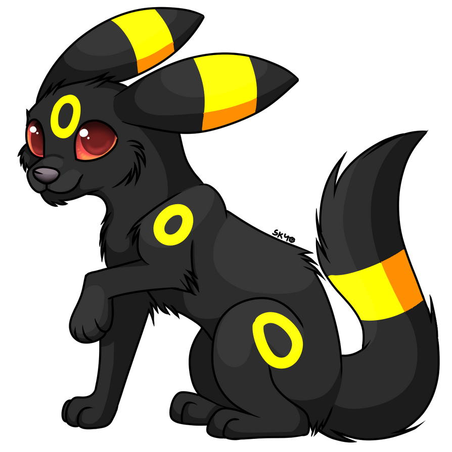 Umbreon by SkyKristal on DeviantArt