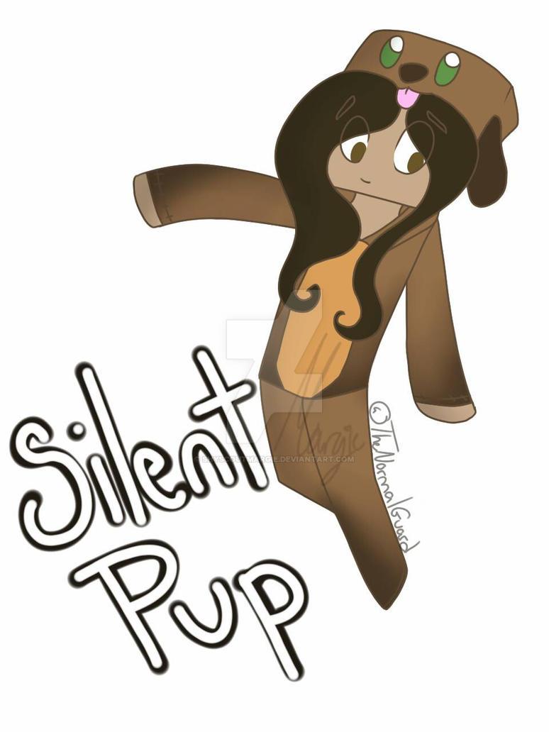 SilentPup (Minecraft skin!) by ShyScoutMargie