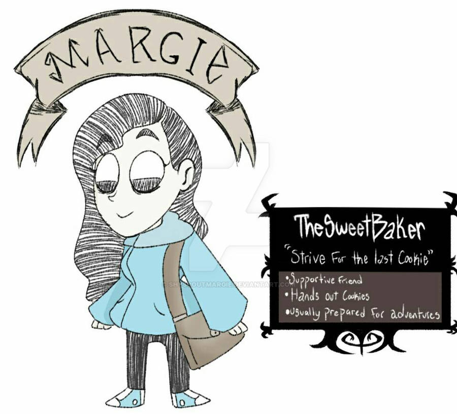 Margie: Don't Starve Character by ShyScoutMargie