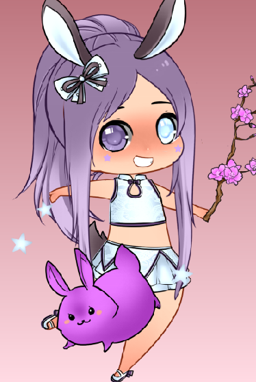 Bunny Chibi by AtomicCrybabyEvilian