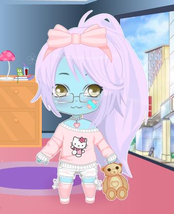 Zombie Cuteness by AtomicCrybabyEvilian