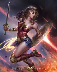 WonderWoman Fanart by JeremyChong