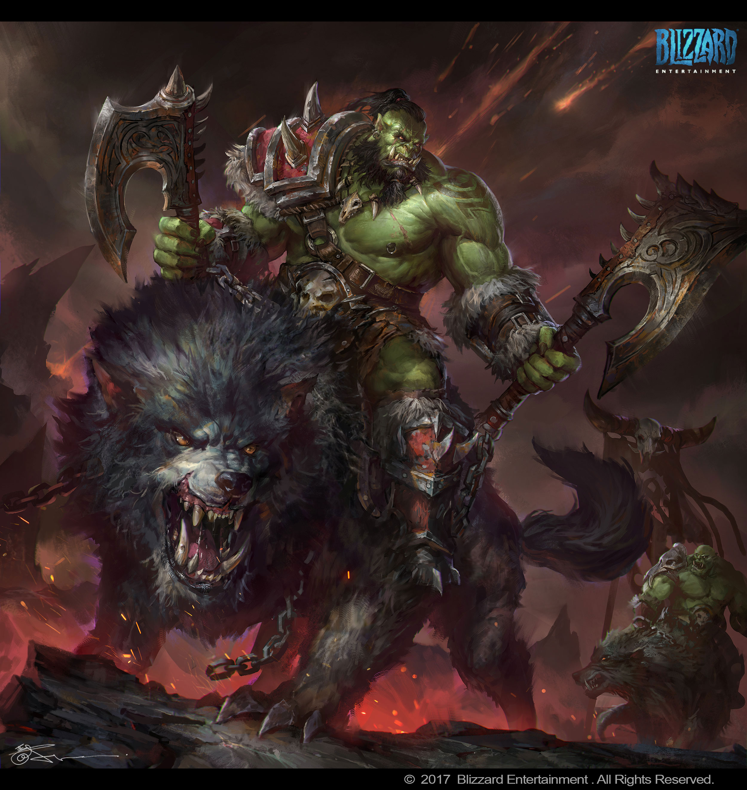 World Of Warcraft Orc By Jeremychong On Deviantart