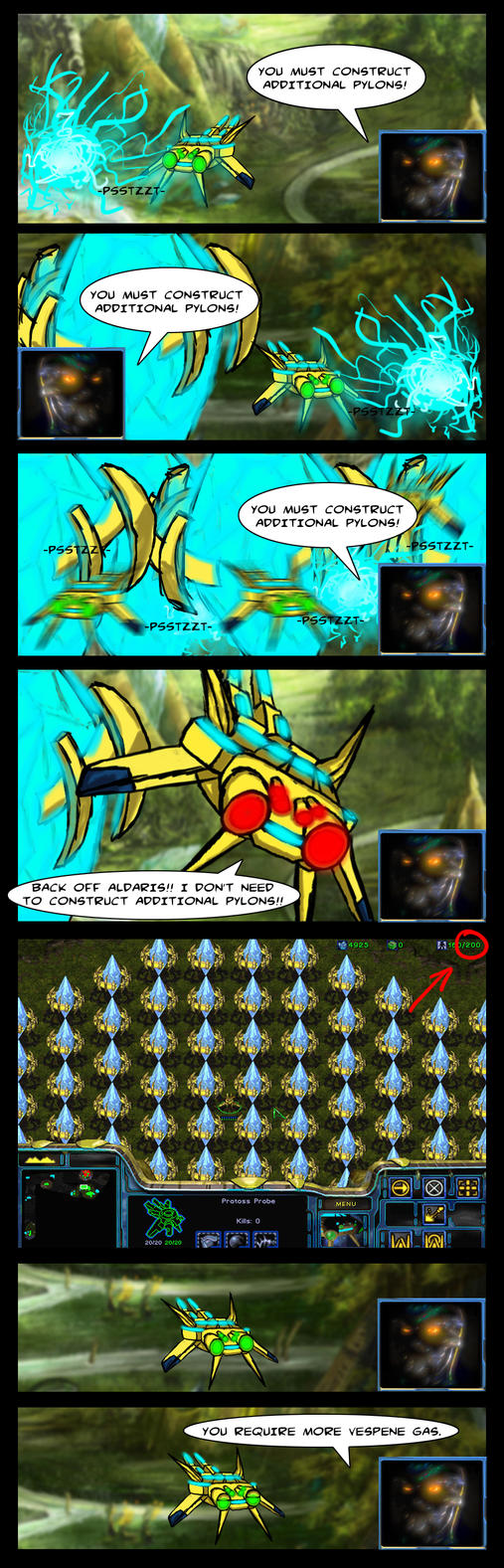 Additional Pylons - BlizzComic by DarkRavage