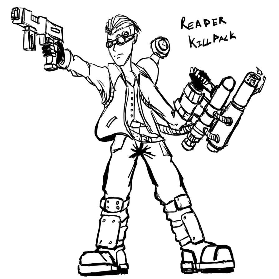 Continuation - 018 - Reaper Killpack by DarkRavage