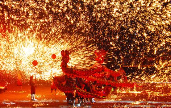 Tongliang Fire Dragon Dance