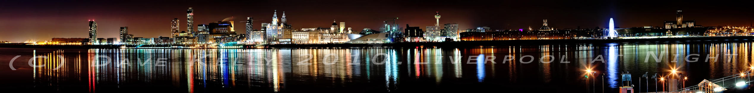 Liverpool at Night by davlinste