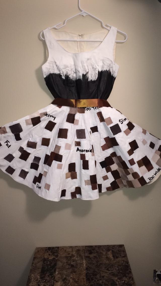 Body Shaming Dress by tashaisanartlover