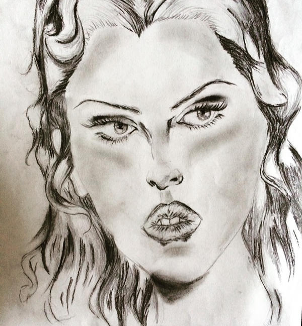 In class drawing by tashaisanartlover