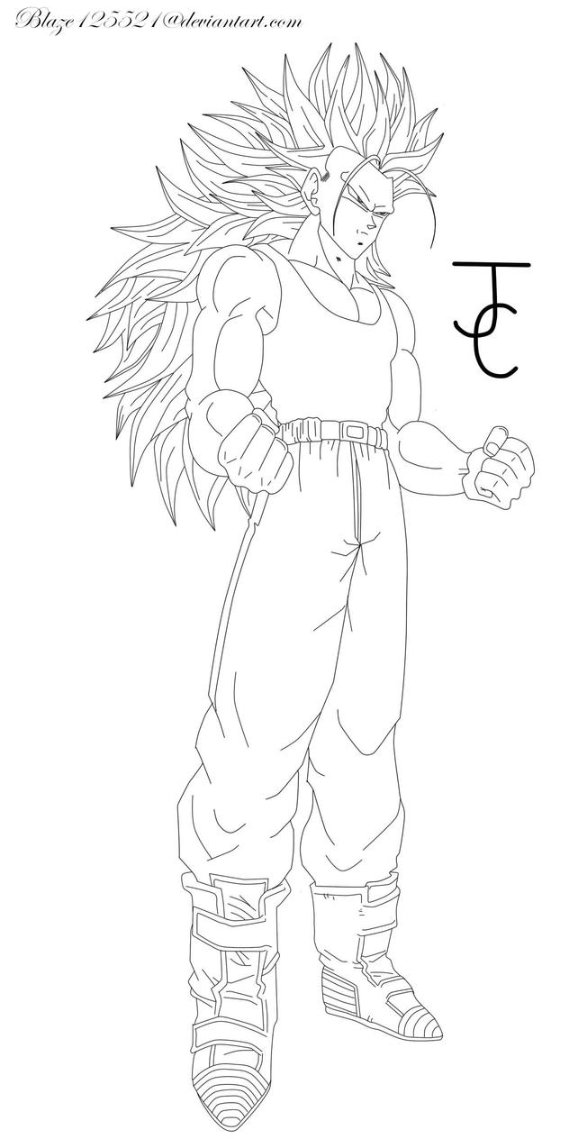 Dbz trunks ssj free coloring pages for Super saiyan trunks coloring pages
