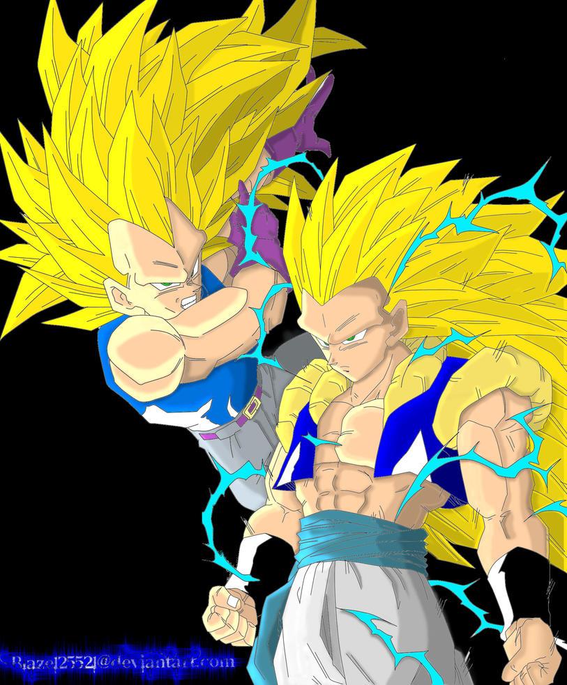 The gallery for --> Vegeta Ssj3 Vs Goku Ssj3