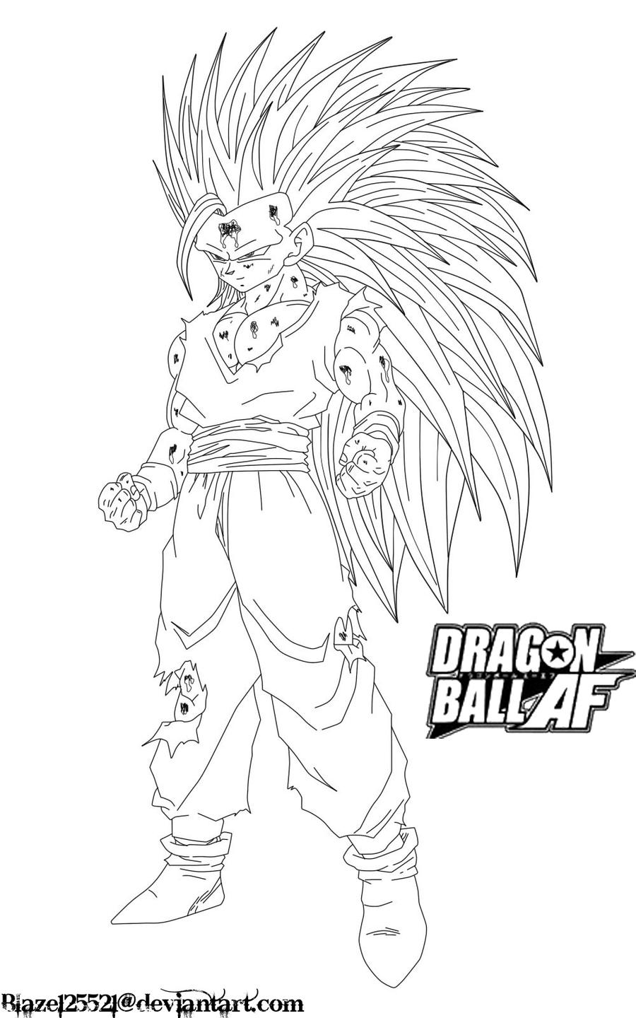 Ssj2 Teen Gohan - Free Coloring Pages