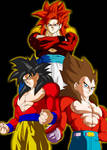 Super Saiyan 4 Fusion Colored