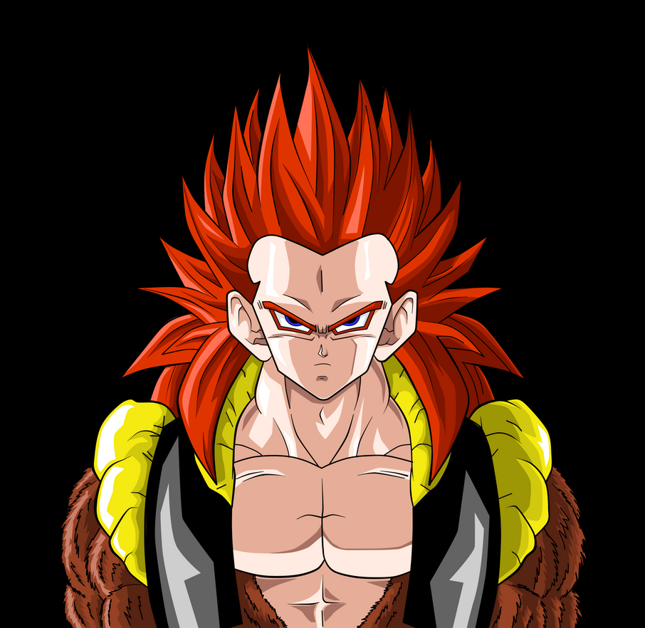 Gotenks SSJ4 Colored by JamalC157