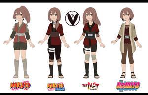 [ Naruto ] Hibari Mori -- Timeline by cupiovulpes