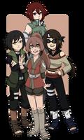 [ N ] Team Natsuko by cupiovulpes