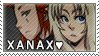 XanAx Stamp by cupiovulpes