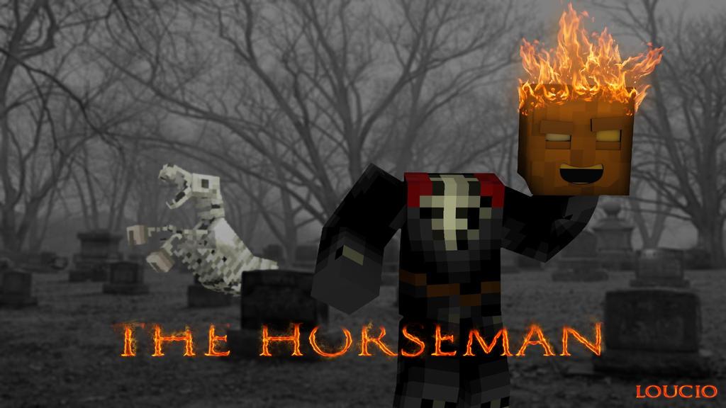 Fire horse wallpaper download - The Headless Horseman Minecraft Wallpaper By Loucio25 On