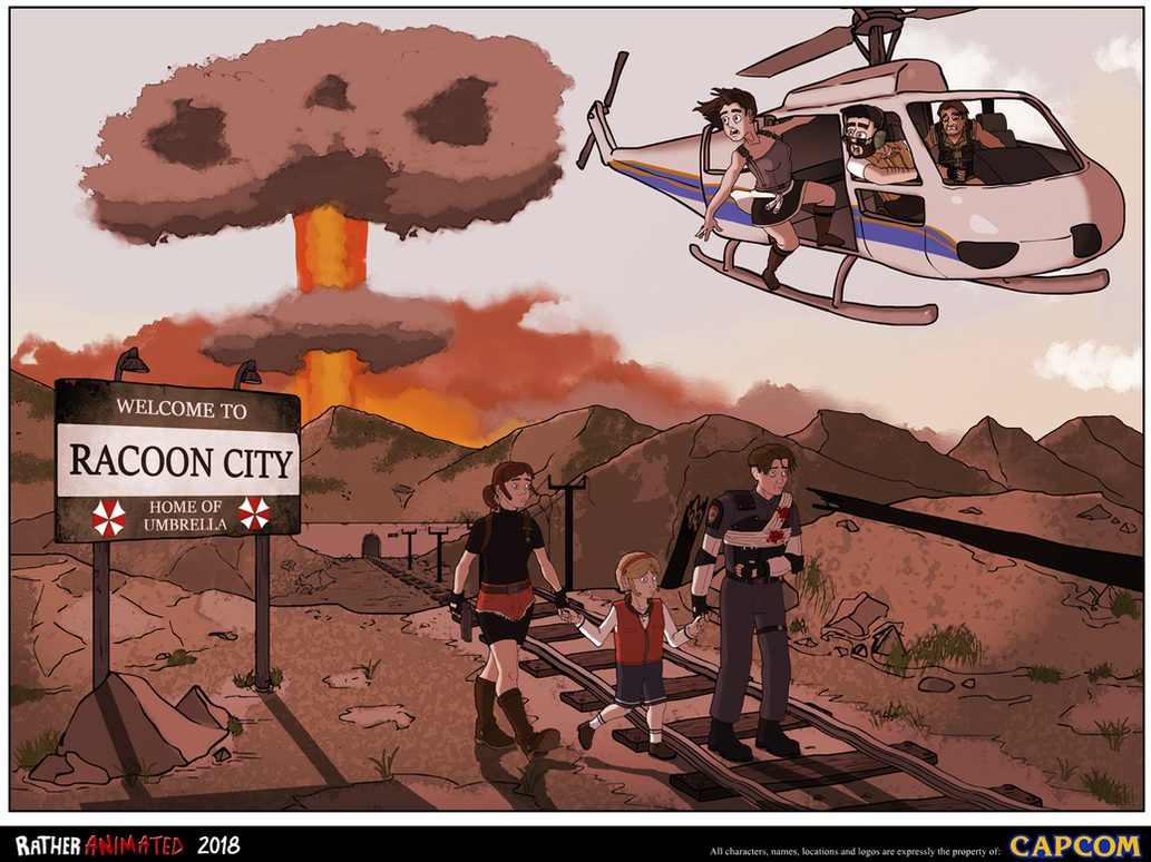 Resident Evil: Racoon City by Jacob-R-Goulden