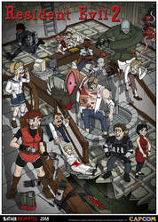 Resident Evil 2 by Jacob-R-Goulden