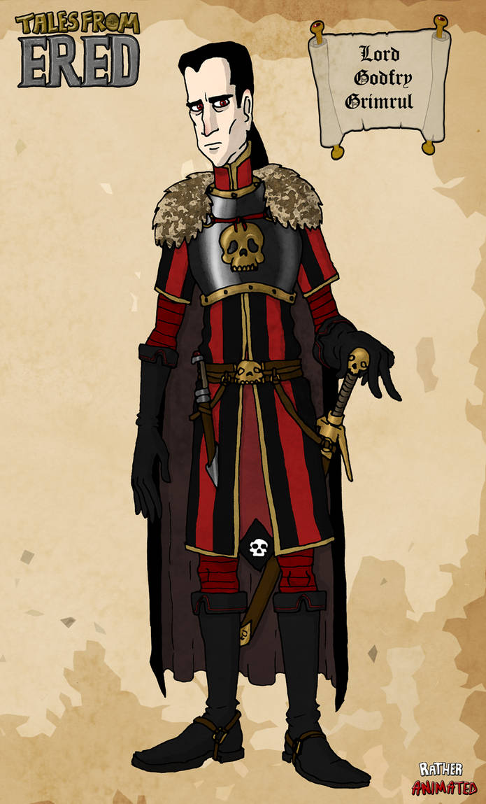 Lord Grimrul (concept 2) by Jacob-R-Goulden
