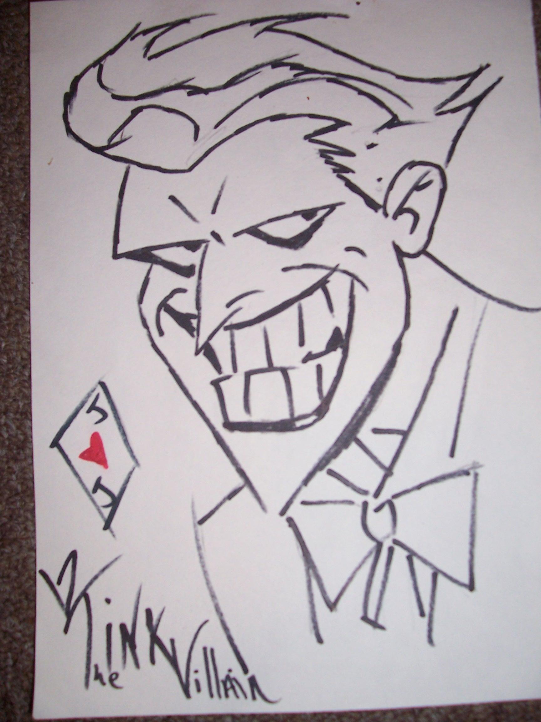 The Joker by TheInkVillain