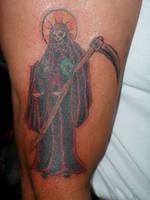 Santa Muerte by money4cocaine