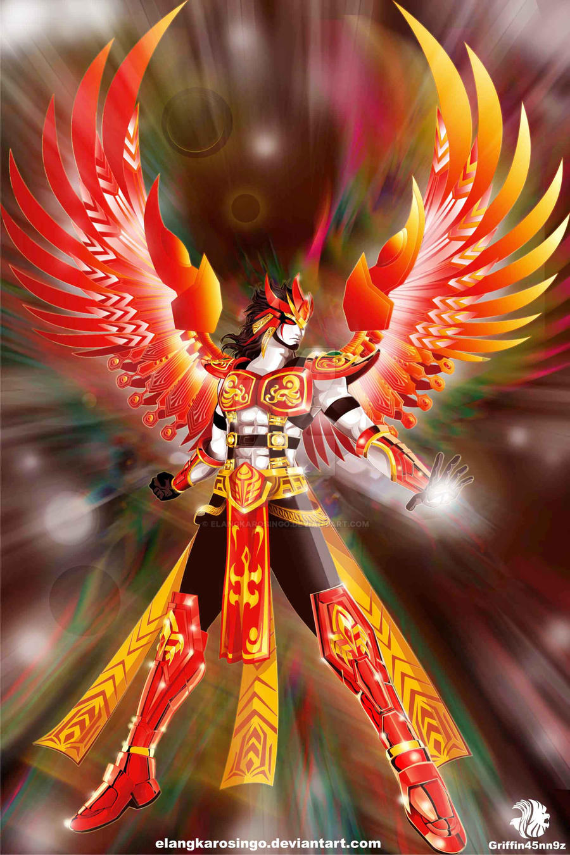 new Phoenix Resurrection by elangkarosingo