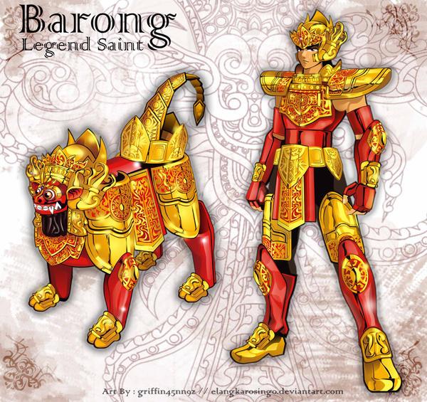 Barong King of The Spirits by elangkarosingo